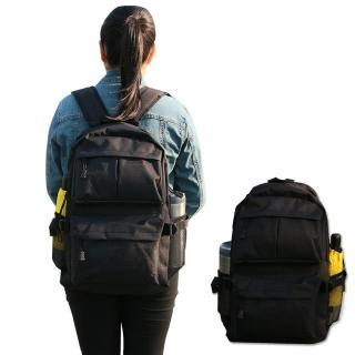 【Yenzch】高級實用型雙肩後背包/黑/31x46x13cm(樂齡族推薦)