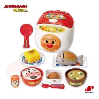 【ANPANMAN 麵包超人】飯飯煮好囉!元氣100倍有聲日式定食組合