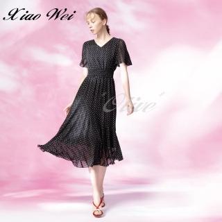 【CHENG DA】專櫃精品春夏款時尚流行短袖洋裝(NO.511314)