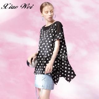 【CHENG DA】專櫃精品春夏款時尚流行短袖上衣(NO.513379)