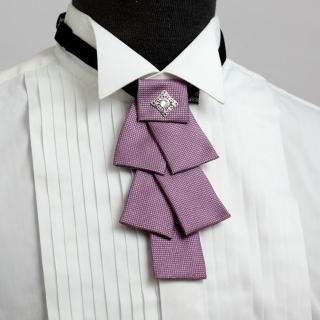 【vivi 領帶家族】MIT男仕配件之 //造型領結 結婚、伴郎正式領結(G106粉)