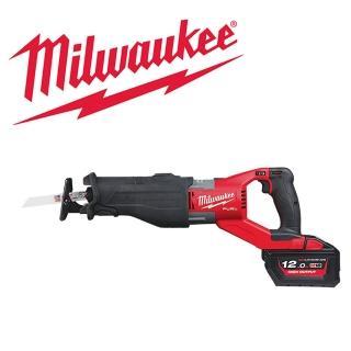 【Milwaukee 美沃奇】18V鋰電無碳刷超級刷軍刀鋸(M18FSX-122C)