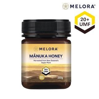 【紐西蘭Melora】麥蘆卡蜂蜜UMF20+ 250g(紐西蘭UMF協會認證)