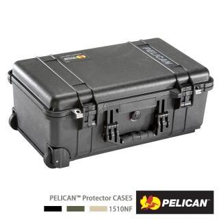 【PELICAN】1510 氣密箱 登機箱 含輪座(空箱 黑色)