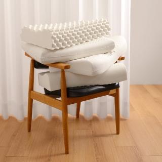 【Embrace 英柏絲】買一送一 特選100%天然乳膠枕-多款任選 頸部支撐 Q彈 舒鼾(深層睡眠乳膠枕-多款任選)