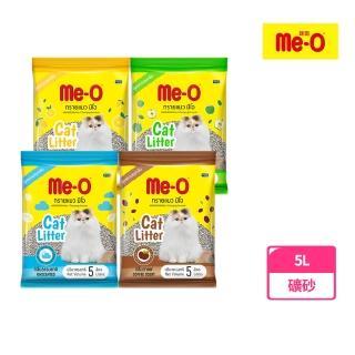 【Me-O 咪歐】低粉塵凝結貓砂-自然無香/蘋果淡香/檸檬清香/咖啡飄香(5L)