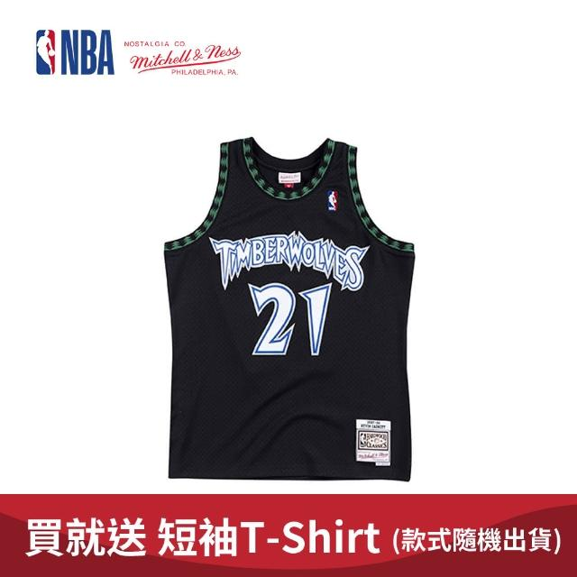 【NBA】M&N Mitchell & Ness 復古球衣 SW 球迷版 KEVIN GARNETT #21 MT 97-98 異色 狼王(MNSWJ-G242A)