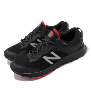 【NEW BALANCE】慢跑鞋 Fresh Foam 超寬楦 運動 男鞋 Gore-Tex 防潑水 避震 跑鞋 黑 紅(MTARISGB4E)