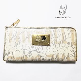 【CRYSTAL BALL 狗頭包】GRAPHIC Wallet時尚長夾(狗頭包)