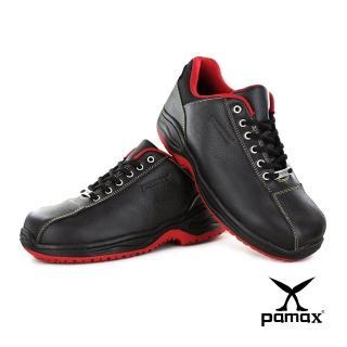 【PAMAX 帕瑪斯】超彈力氣墊止滑安全鞋★頂級廚師鞋、工作鞋、鋼頭鞋、抗滑鞋(PA3307FEH /男女)