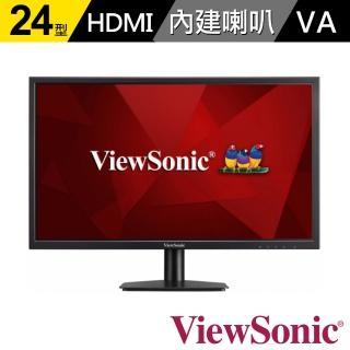 【ViewSonic 優派】VA2405-mh 24型 FHD內建雙喇叭顯示器