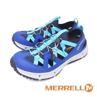 【MERRELL】男 HYDROTREKKER SYNTHETIC 水陸兩棲鞋 男鞋(藍)