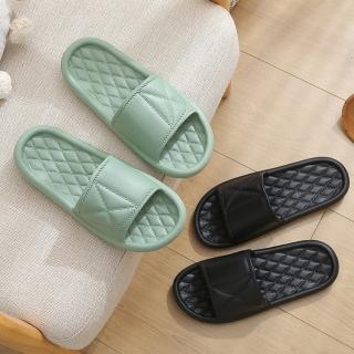 【告別腳跟痛】簡約Q彈加厚居家/浴室拖鞋(多色可挑選)