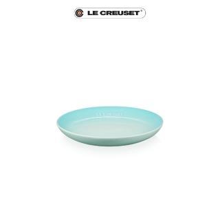 【Le Creuset】瓷器花蕾系列餐盤組17cm-5入(雪花白/沙丘白/淡粉紅/海岸藍/薄荷綠)