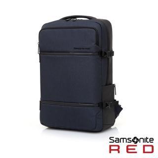【Samsonite RED】CARITANI 簡約隔層筆電後背包(多色可選)