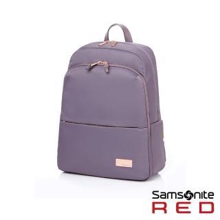 【Samsonite RED】RENY  超輕量尼龍女性筆電後背包13吋(紫)