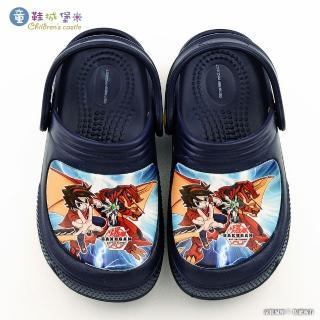 【童鞋城堡】烈火龍王花園鞋 爆丸(BK2208-藍)