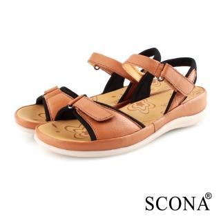 【SCONA 蘇格南】真皮 簡約舒適加州涼鞋(31064-2)