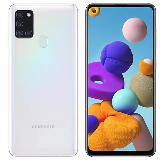 【SAMSUNG 三星】Galaxy A21s 4G+64G 6.5吋八核心手機(贈四角強化空壓殼+鋼化保貼)