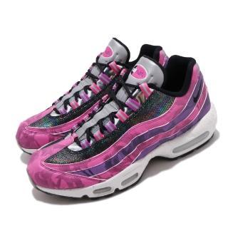 【NIKE 耐吉】休閒鞋 Air Max 95 Premium 男鞋 海外限定 經典款 氣墊 避震 反光 粉 彩(CV0032-605)