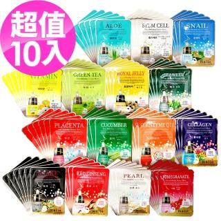 【韓國 Malie 媄莉】韓國超人氣面膜15種口味(10入)