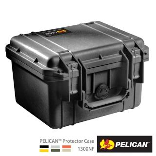 【PELICAN】1300 防水氣密箱(含泡棉 黑色)