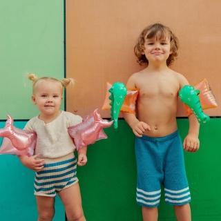 【Sunnylife】兒童充氣式游泳手臂圈(輔助浮手臂泳圈)