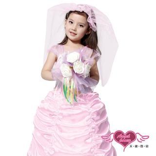 【Angel 天使霓裳】婚禮小天使 萬聖節童裝系列(粉M-L)