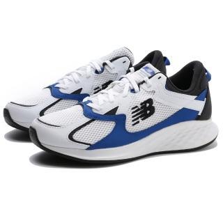 【NEW BALANCE】休閒鞋 FRESH FOAM ROAV NXT 白藍黑 網布 運動 男(MRNXTLW)