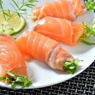 【鮮綠生活】智利頂級原料冷燻鮭魚切片(100g/包 共3包-凍)