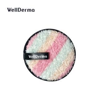 【WellDerma 夢蝸】馬卡龍卸妝海綿(1入)