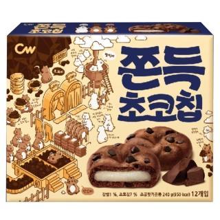 【CW-即期品】可可豆風味麻糬餅240g(有限期限至有2021/7/24)