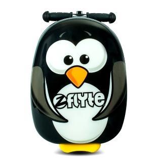 【Zinc Flyte】多功能行李箱滑板車-波西企鵝(有贈品)