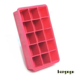 【bargogo】15格方塊矽膠製冰盒(可當副食品分裝盒)