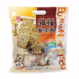 【卡賀】雜糧蕎麥酥330g(卡賀 方塊酥 餅乾 休閒食品)