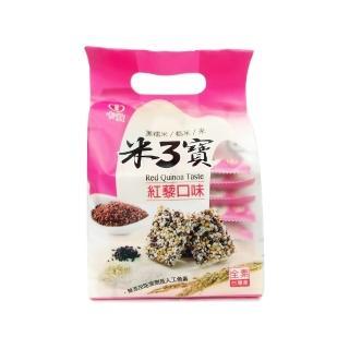 【卡賀】米3寶紅藜口味160g(卡賀 米果 米香 餅乾 休閒食品)