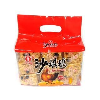 【卡賀】手提雞蛋沙琪瑪560g(卡賀 沙琪瑪 餅乾 休閒食品)