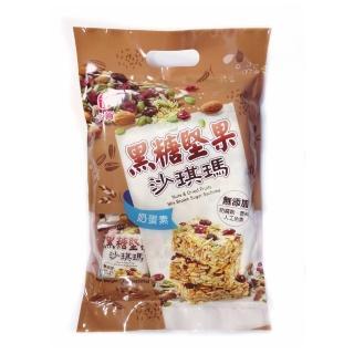 【卡賀】卡賀黑糖堅果沙琪瑪225g(卡賀 沙琪瑪 餅乾 休閒食品)