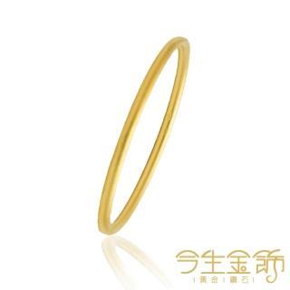 【今生金飾】永恆交織-紅繩金鍊手鍊(黃金手鍊)/