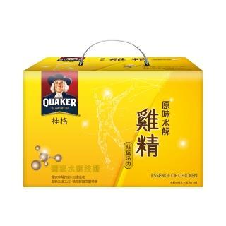 【QUAKER 桂格】原味水解雞精68ml×18入