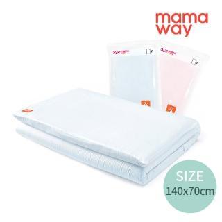 【mamaway 媽媽餵】純棉嬰兒床套140*70cm(共2色)