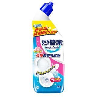 【妙管家】馬桶芳香清潔劑750g(玫瑰花香)
