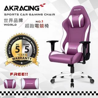 【AKRACING】超跑電競椅女神款-GT13 ELODIE(電競椅)