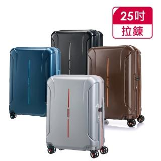 【AT美國旅行者】25吋Technum防刮飛機輪可擴充TSA海關鎖行李箱(多色可選)/