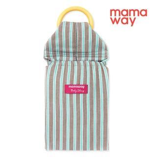 【mamaway 媽媽餵】條紋育兒哺乳背巾(共4色)