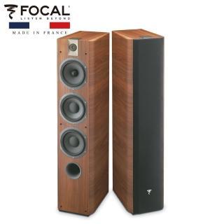 【FOCAL】法國 Focal Chorus 700系列 Chorus 726 落地型喇叭 胡桃木色 一對 公司貨(落地喇叭)