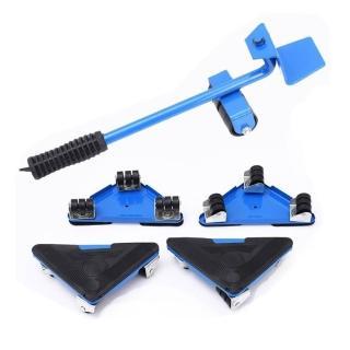 OD011 多功能搬家神器 萬象滑輪 (顏色隨機)升級360度旋轉 搬重物(省力搬家工具 重物移動工具 傢俱移動器)