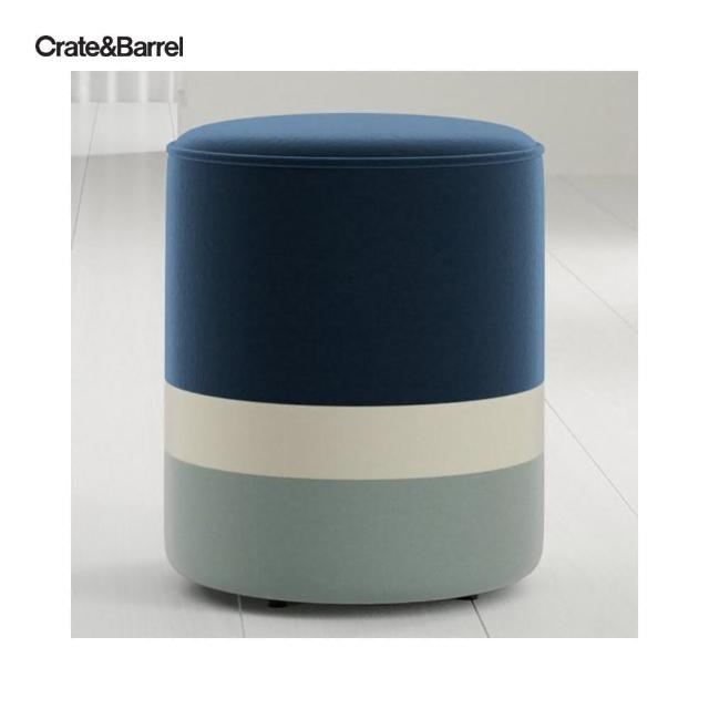 【Crate&Barrel】Oden 椅凳 牛仔藍