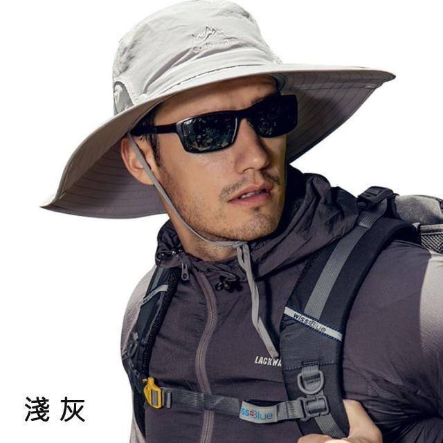 戶外釣魚登山健行遮陽漁夫帽