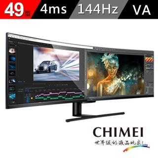 【CHIMEI 奇美】49型超寬量子點曲面螢幕(ML-49C20W)